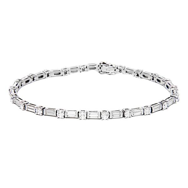 jb baguette be and on p star straight round bracelet diamond park